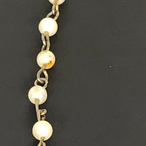 Unbranded Jewelry - Vintage Sweater Guard Faux Pearls